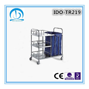 Stainless Steel Medical Equipment Trolley for Sale pictures & photos