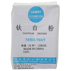 TiO2 Mbr9669-Speciall Use for Plastic, Masterbatch Titanium Dioxide pictures & photos