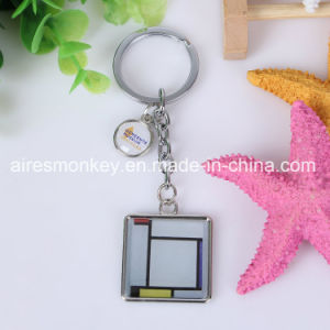 UV Printed Doming Zinc Alloy Keychain pictures & photos