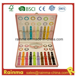 Watch Girl Gift with Variety of Colorful Watchband pictures & photos