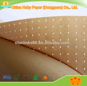 High Quality Factory Price Brown Kraft Wrapping Paper/Brown Perforated Kraft Paper pictures & photos