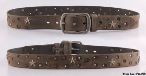 2017 New Fashion Star Genuine Leather Belt for Women (FM648) pictures & photos