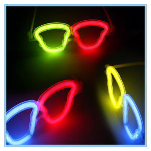 Fashion Halloween Dance Party Fluorescent Flashing Glasses pictures & photos