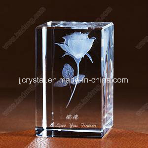 Laser Engraving Cube for Wedding Gifts or Table Decoration pictures & photos