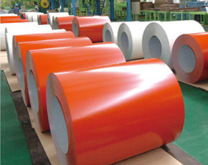 Prepainted Galvanized Steel Coil / PPGI Building Material pictures & photos