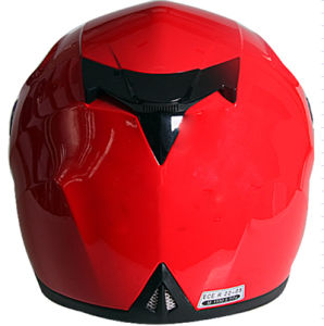 High Quality Hot Sale Full Face Motorbike Helmets with Sunvisor ECE Standard pictures & photos