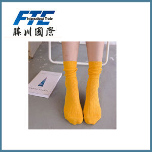 Fashion Stockings Solid Color Couples Happy Socks pictures & photos