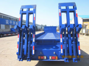 Factory Tongya Best-Selling Lowboy Trailer Manufacturer Low Boy Semi Trailer pictures & photos