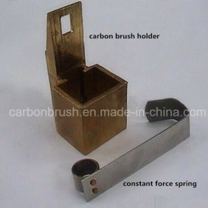 Copper Single Hole Brush Holder and Constant Force Spring pictures & photos