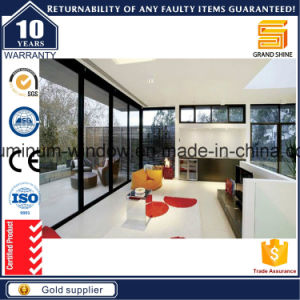 Interior / Exterior Patio Aluminium / Aluminum Sliding & Folding Security Glass Doors pictures & photos