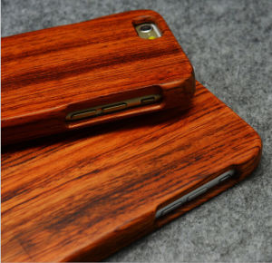 High-End Custom Wood Phone Case for iPhone 5 6 Mobile Cover Case pictures & photos
