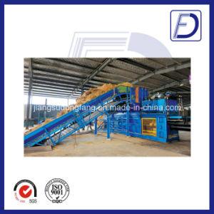 Baler Hydraulic Semi-Automatic Straw Hay Baler Machine pictures & photos