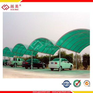 Clear Polycarbonate Solid Sheet for Carport pictures & photos