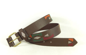 embroidery Lady′s Fashion PU Belt (KY5019) pictures & photos