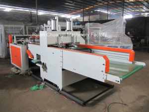 High-Speed Two-Line Plastic Bag Machine pictures & photos