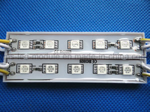 SMD 5050 5 LED Module Waterproof Yellow Light pictures & photos