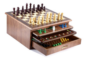 10 in 1 Wooden Family Game Set