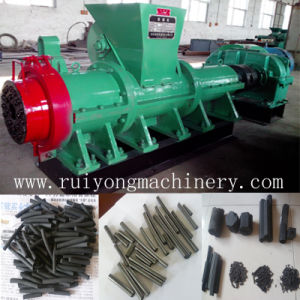 Coal Powder Extrusion Rod Machine/ Briquette Bar Extruder pictures & photos