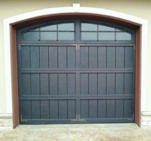 Decorative Wrought Iron Garage Door pictures & photos
