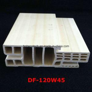 Df-120W45 E Style WPC Door Frame WPC Door Jamb PVC Foamed Door Pocket Df-120W45 pictures & photos