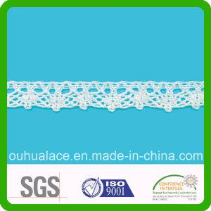 Simple Design Web Shape Wholesale Cotton Lace