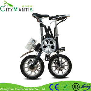 36V High Speed 14′′ Small Wheel Mini Folding Electric Bike pictures & photos