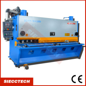QC11y Series QC11y 6X2500 Hydraulic Metal Palte Shearing Machine CNC Cutting Machine Delem Da310 Cutting Machine pictures & photos