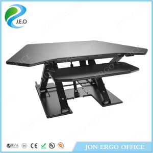 Gas Lifting Computer Stand up Desk (JN-LD08L) pictures & photos