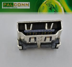 HDMI Connector Female, 19pin Vertical SMT Type for STB pictures & photos