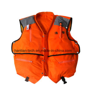 Foam and Inflatable Working Lifejacket for Lifesaving pictures & photos