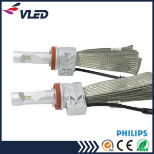 Philips LED Headlight H7 H8 H11 Car Light Auto Head Lamp pictures & photos