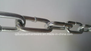 Factory Supplier Galvanized DIN 766 /763/ 5685A Steel Link Chain pictures & photos