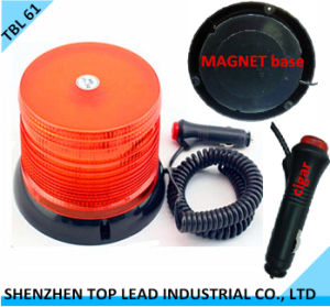 High Quality DC12-48V Amber LED Magnetic Warning Light