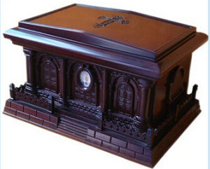 Luxurious Hand Carved Rosewood Funeral Human Urns pictures & photos