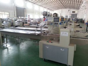 High Speed Packing Machine for Donut/Bread/Biscuits pictures & photos