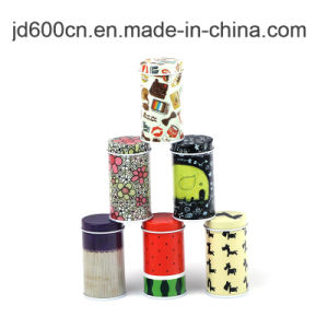 Various Types Chocolate/Cookies/Candy/Tea Packaging Gift Tin Box Round Metal Tin Box pictures & photos
