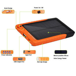 Portable Solar Power Bank for Tablet PC pictures & photos
