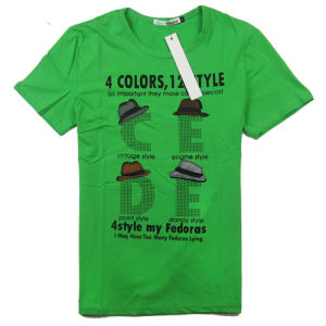 OEM Cheap Professional Clothes Soft Hand-Feeling Men T-Shirt (T005) pictures & photos