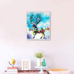Factory Direct Wholesale Children DIY Crystal Oil Painting Kids Toy K-128 pictures & photos