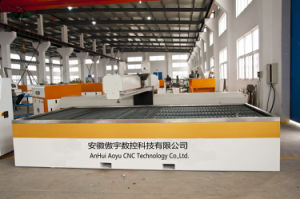 3-Axis Water Jet Cutting Machine with CE pictures & photos