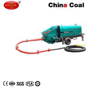 Spj10-6-19 Mobile Diesel Concrete Trailer Pump Machine pictures & photos