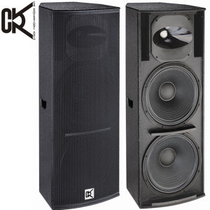 600 Watt + Dual 15 Inch + PA Speaker (Q-215) pictures & photos