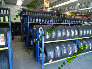 Welding Truck Tire Display Rack pictures & photos