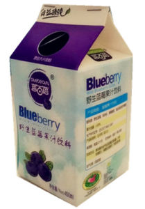 450ml Gable Top Carton for Milk/ Juice/Cream/Wine/Yoghurt/Water Box pictures & photos