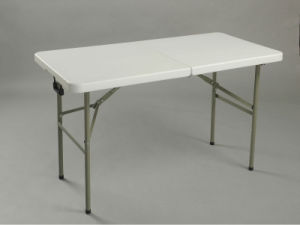 Rectangular Plastic Folding Table (SY-122C) pictures & photos
