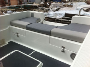 Liya 5m Small Dinghy Rescue Boat Fiberglass Fishing Boat with Center Console for Sale pictures & photos