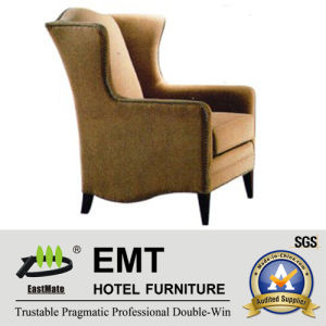 Luxury Hotel Chair with High Quality Wooden Frame (EMT-HC14) pictures & photos