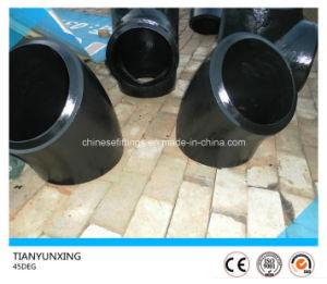 45 Degree Long Radius Carbon Steel Seamless Elbow pictures & photos