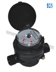 Single Jet Dry Type Plastic Water Meter with External Adjustment pictures & photos