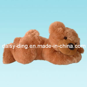 Plush Lying Teddy Bear with New Soft Material pictures & photos